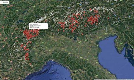 CNR: online il catasto delle frane alta quota sulle Alpi italiane