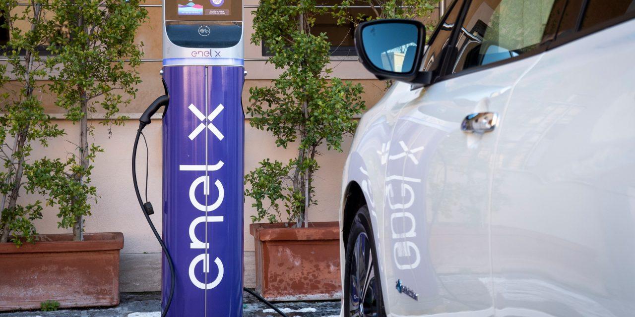 Enel X con Volkswagen per rete punti ricarica