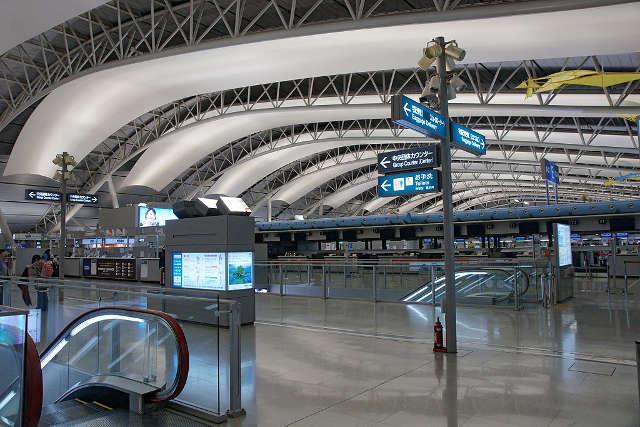 GIAPPONE, aeroporto Kansai aria condizionata controllata da A.I.