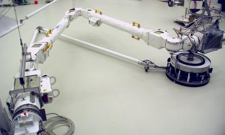 Da Airbus braccio robotico europeo  pronto per lo spazio