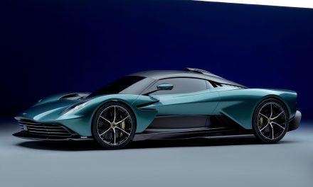 Aston Martin, mostrata hypercar ibrida Valhalla
