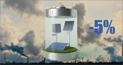 ENEA: inquinamento atmosferico abbatte resa impianti fotovoltaici