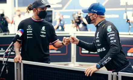 F1, GP Ungheria: prima fila Hamilton-Bottas davanti a Verstappen