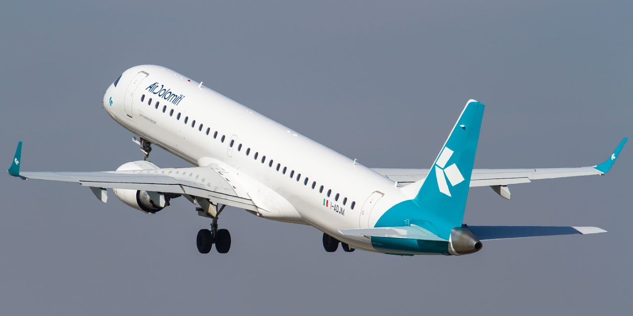 Air Dolomiti  rinnova  sistema di intrattenimento con WiFi su tutta la flotta