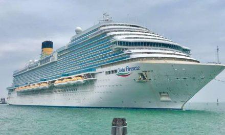 Catania ripartono le crociere dal porto con Costa Firenze
