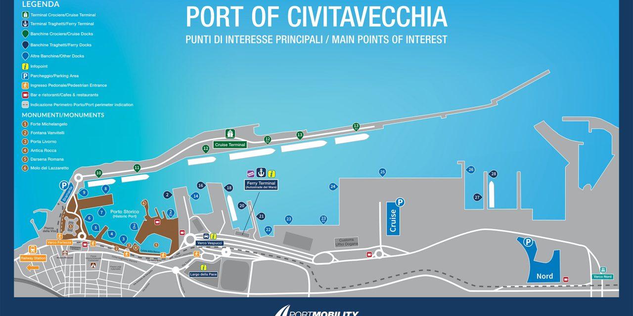 Civitavecchia in collaborazione con Msc riceverà  portacontainer da oltre 300 metri