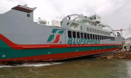 Sikania, inaugurata la nave dello Stretto di Messina
